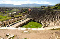 Day 1 Theater in Aphrodisias. Held 10,000.