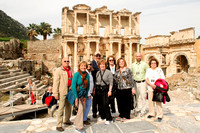 Day 3 Celsus' library in Ephesus. 3rd largest in the world (remember the other two?)