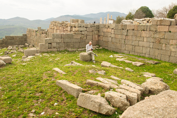 Day 2 Library in Pergamum. 2nd largest to Alexandria